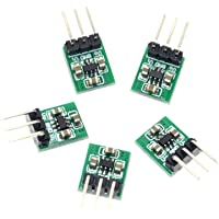 ARCELI 5pcs Mini DC a DC 1.8V-5V a 3.3V Step Up Down Fuente de alimentación Buck Boost Module