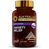 Australian NaturalCare Anxiety Relief Tablets, 60 Count