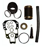 Tungsten Marine Transom Bellows Kit with Gimbal Bearing for Mercruiser Alpha I Gen II similar to 30-803099T1