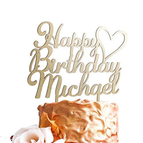 Happy Birthday Personalized Unique Custom Birthday Cake