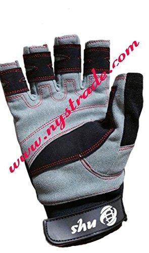 Cut Finger Gloves for Boating Sailing Yachting Rope Fishing Kayak & Water Ski