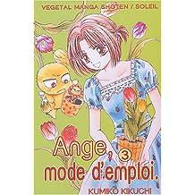 ANGE MODE D'EMPLOI T03