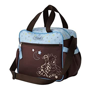 Amazon.com: Winnie the Pooh Botella Bolsa (Azul/Marrón): Baby