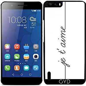 Funda para Huawei Honor 6 Plus - Te Amo by wamdesign