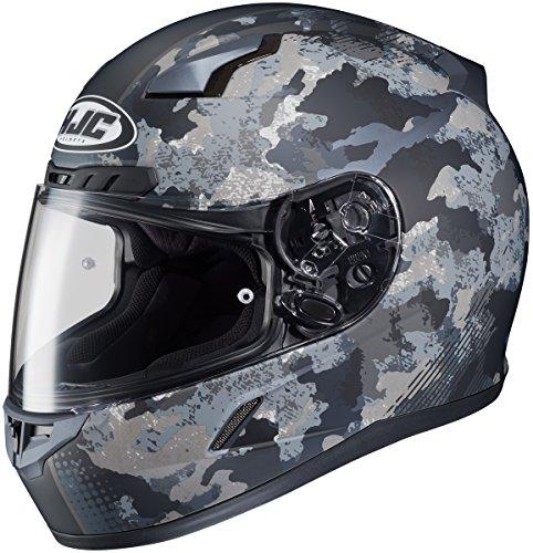 HJC CL-17 Void MC-3HF Grey Full Face Motorcycle Helmet Size MEDIUM SNELL DOT