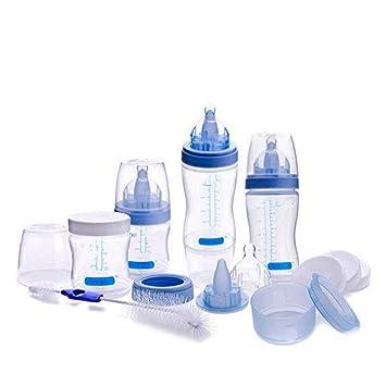 JP0SDD Conjuntos de biberones para bebés recién nacidos (4 biberones ...