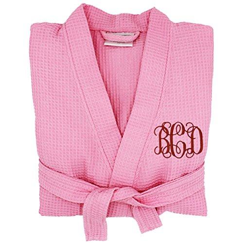 Personalized Waffle Bridesmaid Kimono Robe product image