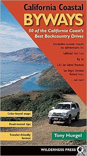 California Coastal Byways Tony Huegel 0719609973591 Amazon Books