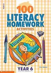 100 Literacy Homework Activities for Year 6