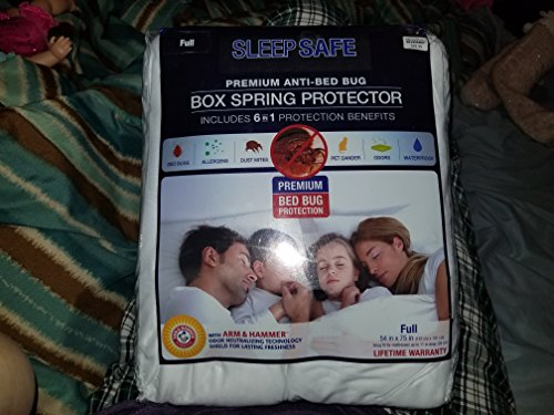 Amazon Com Sleep Safe Premium Anti Bed Bug Box Spring Protector