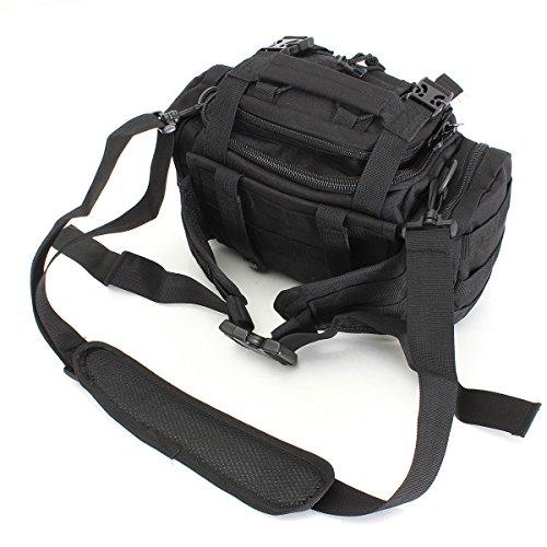 Bininbox Fishing Tackle Storage Bag Waterproof Soft Sided