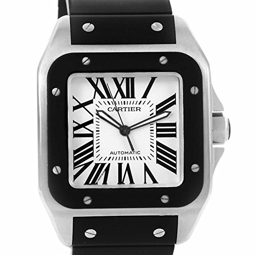 Cartier Santos automatic-self-wind mens Watch W20121U2 (Certified Pre-owned)