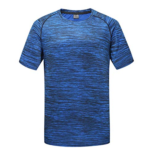 0fadf2ad Men's Sport T Shirt,Short Sleeve Dry Fit Crewneck Athletic T-Shirts Top  Zulmaliu