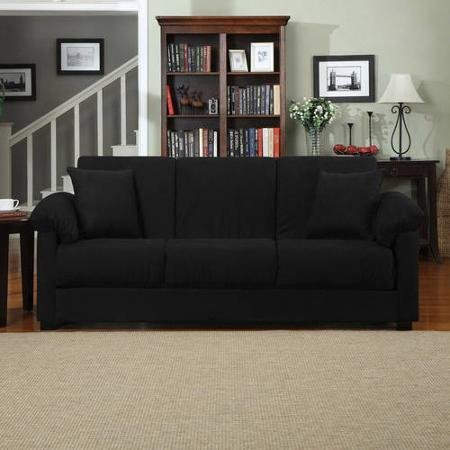 Montero Microfiber Convert-A-Couch Sofa Sleeper Bed Review
