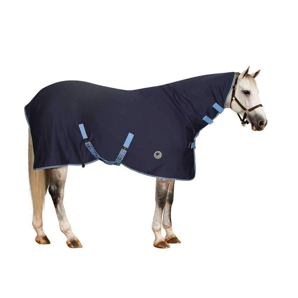 English Riding Supply Inc Centaur High Neck Turbo Dry Sheet Navy LRGHORSE by English Riding Supply Inc
