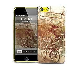 paris metro iPhone 5c protective phone case