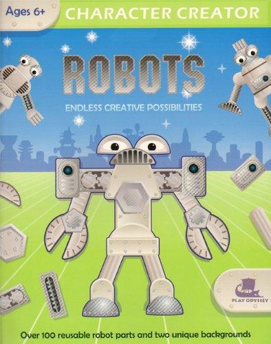 Character Creator Robots Endless Creative Possibilities Gill Damian 9780979944109 Amazon Com Books