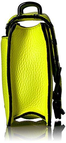 Crossbody Neon Yellow Mini Biker Rebecca Minkoff qxwfF6t