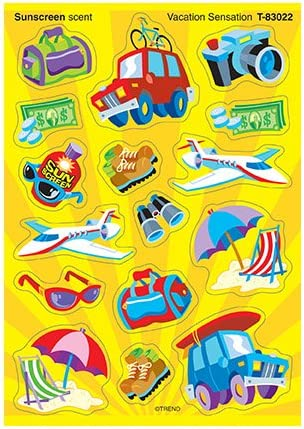 Stickers Stinky Vacation Sensational Scratch n Sniff
