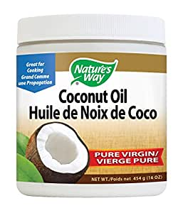 Nature 's Way oil-extra de coco virgen 16 onzas