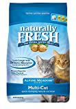 Naturally Fresh Cat Litter - Walnut-Based Quick-Clumping Kitty Litter, Alpine Meadow Scent, Multi-Cat, 14 lb