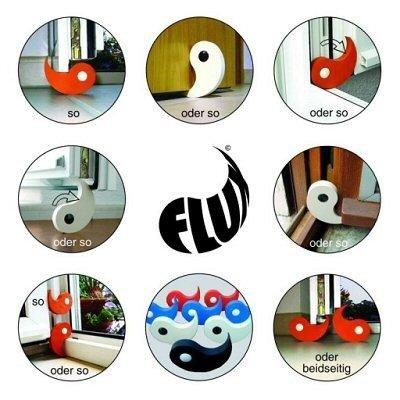 Diseño tope para puertas y ventanas Flux © de extra Sign colores a elegir: Amazon.es: Hogar