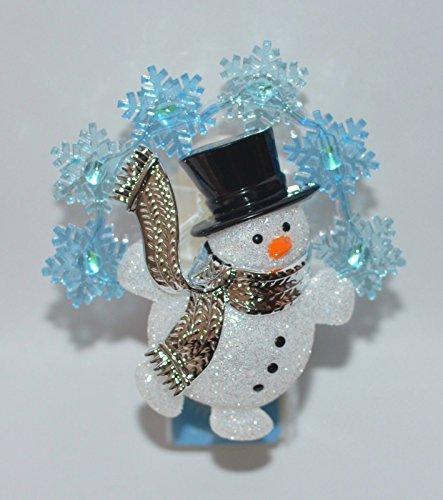 Snowman Bath (Bath & Body Works Wallflower Fragrance Nightlight Plug Festive Snowman)