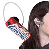 Earloomz SL-398 Los Angeles Clippers - Bluetooth Headset - Retail Packaging - Blue/Red/White