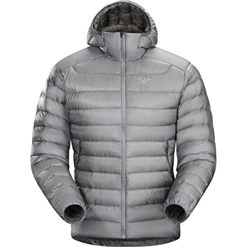 Arc'teryx Cerium LT Hooded Down Jacket - Men's Smoke, XXL by Arc'teryx