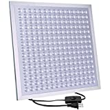 Growstar Ultrathin Super Light 45W LED Grow Light Full Spectrum for Indoor Plants Veg and Flowers