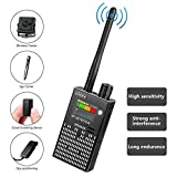 CaGuan Anti-Spy Wireless RF Signal Detector Set [2019 Latest Upgrade] Bug GPS Camera Signal Detector,for Hidden Camera GSM Listening Device GPS Radar Radio Scanner Wireless Signal Device Finder