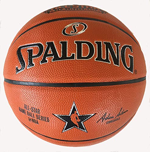 Spalding All Star Replica Game Ball 2017 New Orleans Composite Leather Size 7/29.5 inch