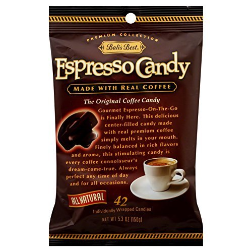 - Bali's Best Espresso Candy Center Filled with Espresso, 5.3 Ounce (6 Pack)