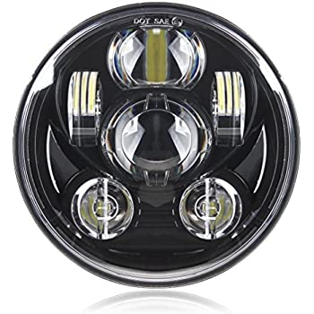 Motorcycle 5-3/4 5.75 Daymaker LED Headlight for Harley Davidson 883,sportster,triple,low rider,wide glide Headlamp Projector Driving Light