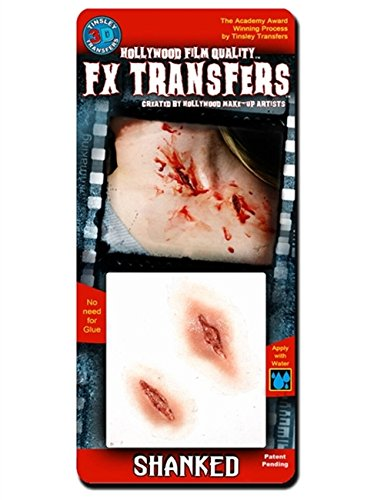 Tinsley Transfers  Shanked, Flesh/Multi, One -