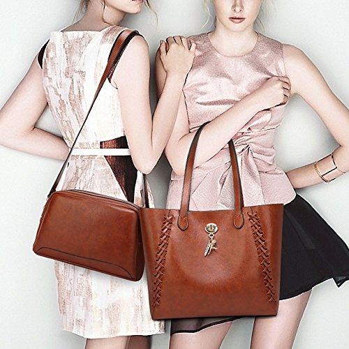 Fourre Shopping Classique Pour Cross tout à Main Sac Brown corps Féminin écologique Sac Les Retro Dames épaule Sacs Sac Sac Tissé Stes Fille Diagonale aCxFfqwBx