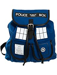 Doctor Who Dr. Blue Tardis Backpack (Dr. w-02)