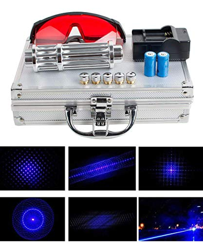 A complete set of blue high power laser hiking sports and outdoor LED teaching pointer pen demonstration projector > outdoor entertainment > camping mountain climbing outdoor supplies