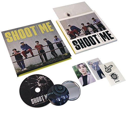 SHOOT ME : YOUTH PART 1 [ Trigger Ver. ] - DAY6 3rd Mini Album CD + Photobook + Clear Card + Tatoo Sticker + Photocard + FREE GIFT / - Cd Album One
