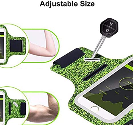 SONY Jogging Exercise Gym and More Cell Phone Armband Case for iPhone 11 Pro MAX XR XS X 8 7 Plus and Samsung Galaxy S10 S9+ S8 Note 10 plus 9 for etc. Adjustable Band and Key Holder Case for Workout Fitness Universal Running Armband Phone Holder