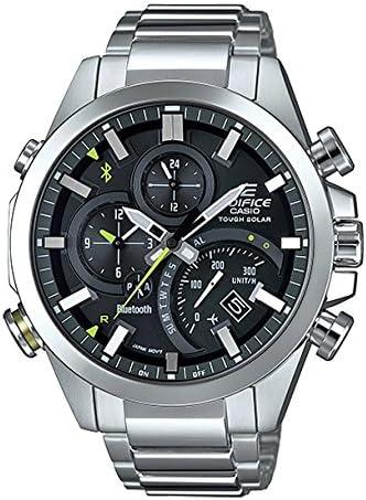 【並行輸入品】ソーラー カシオ CASIO 腕時計 時計 エディフィス タイムトラベラー EDIFICE TIME TRAVELLER クロノグラフ EQB-501D-1A