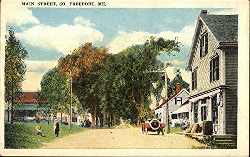 Main Street Freeport, Maine Original Vintage - Main Freeport