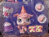 Exclusive Littlest Pet Shop Single Birthday Poodle with accessories!
