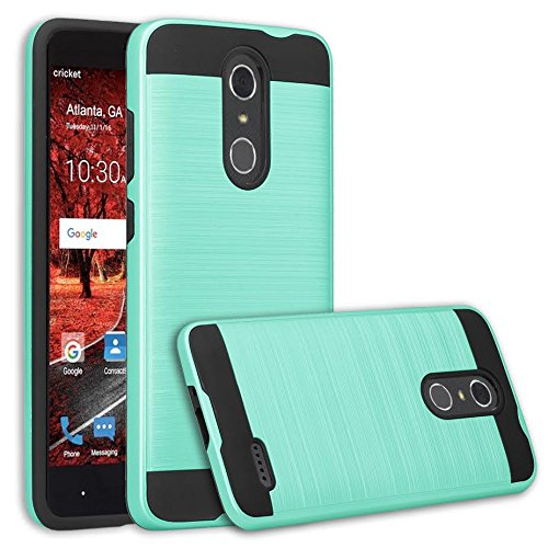 buy online 8da60 f1036 [GALAXY WIRELESS] for ZTE ZMAX One (Z719DL) Case, ZTE Grand X4 Case, ZTE  Blade Spark Z971 Case [Shock/Impact Resistant] Hybrid Dual Layer Armor ...