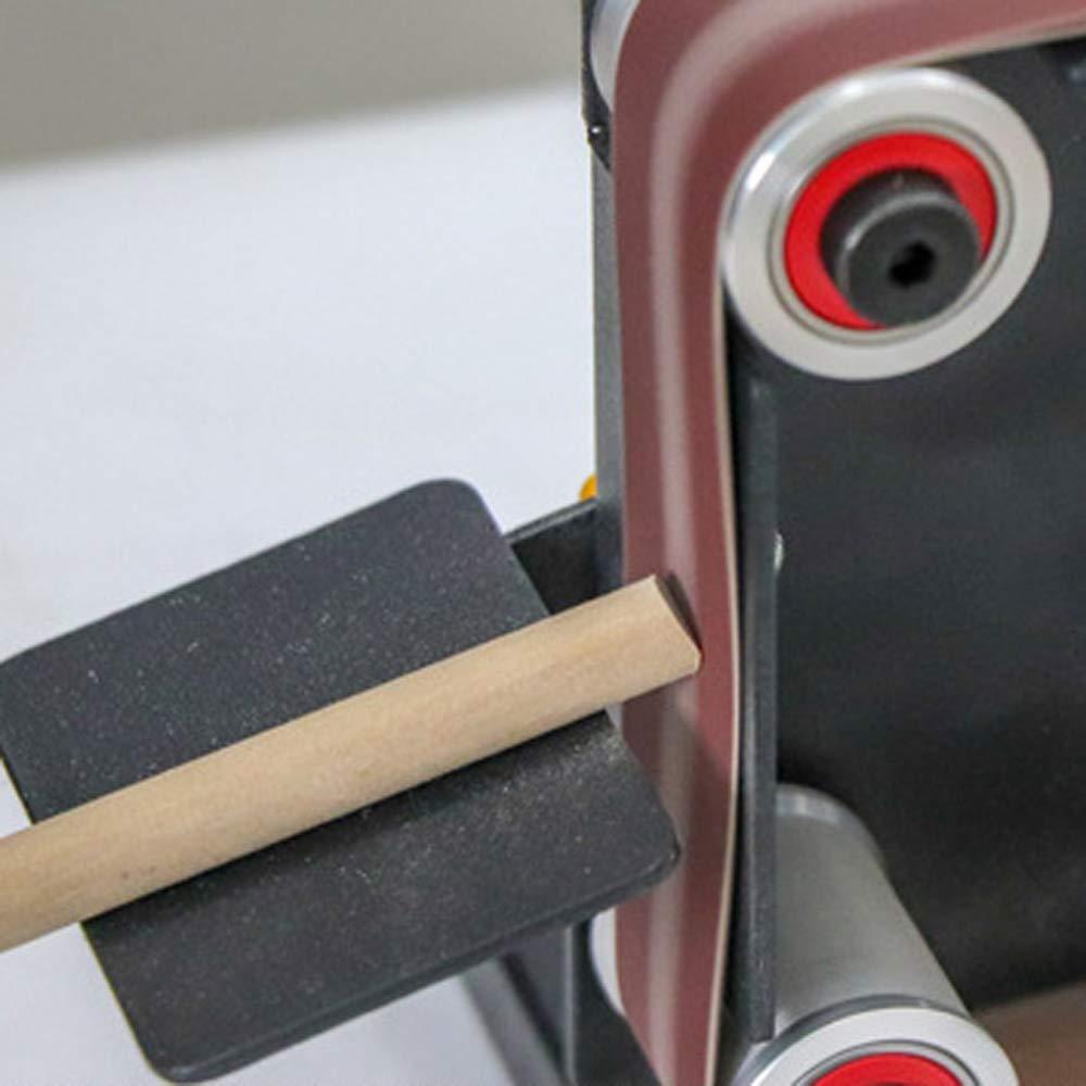 DIY Polierschleifmaschine Festen Winkel Sch/ärfblatt Bank Maschinen KKmoon Mini Elektrische Bandschleifmaschine