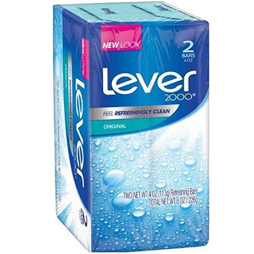 Lever 2000 Antibacterial - Lever 2000 Bar Soap, Original, 4 oz, 2 Bar