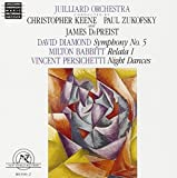 Diamond: Symphony No. 5; Babbitt: Relata 1; Persichetti: Night Dances