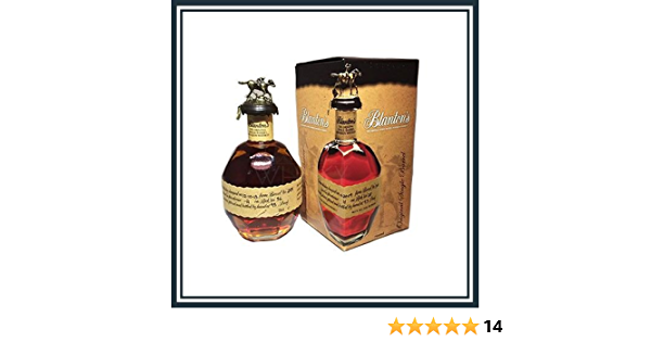 Blantons Original Single Barrel Bourbon Whiskey 70 cl ...