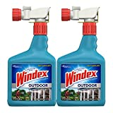 Windex Outdoor Glass and Patio Concentrated Cleaner, 32 Ounce, Pack of 2 (Packaging may vary)