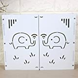 Multimedia Container Box Information Box Shield Box Wall Mount Decorative Box Cradle Cable WIFI Router Storage Box